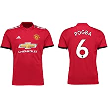 Camiseta niños Adidas Manchester United 2017–2018Home–POGBA 6, Pogba 6