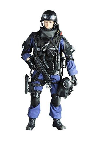 Baellar de alto grado 12 'Fuerzas Especiales figura de acción SWAT Equipo Bendable Soldado figura Colección de modelos militares juguetes - Assualter