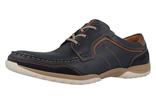 FRETZ men-Racer-Chaussures basses Homme-Bleu Chaussures en übergrößen Bleu - Bleu