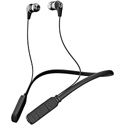 Skullcandy Ink'd Bluetooth Wireless in-Ear Earbuds with Mic (Gray/Black)