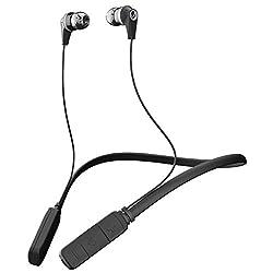 Skullcandy Inkd Bluetooth Wireless in-Ear Earbuds with Mic (Gray/Black)