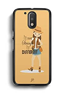 YuBingo I'm Different Designer Mobile Case Back Cover for Motorola G4 Plus