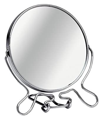Premier Housewares Shaving Mirror - 15 cm - Chrome