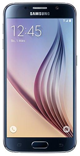 Samsung Galaxy S6 Smartphone (5,1 Zoll (12,9 cm) Touch-Display, 128 GB Speicher, Android 5.0) schwarz (Nur für Europäische SIM-Karte)