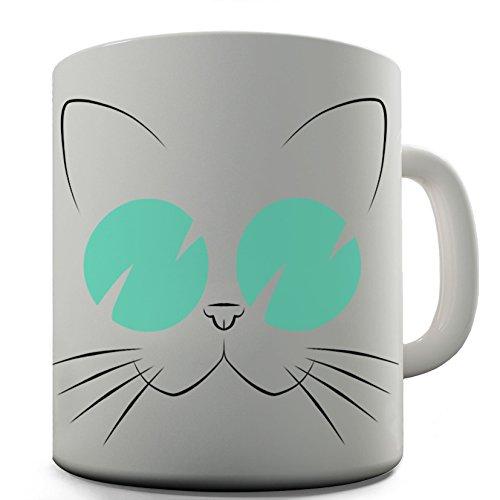 Twisted Envy Katze tragen Sonnenbrille Keramik Tee Tasse