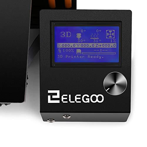 ELEGOO 3D Drucker FDM Ender 3 3D Printer Bausatz V-Slot Prusa i3 Rahmen, für Anfänger und Enthusiasten geeignet - 8