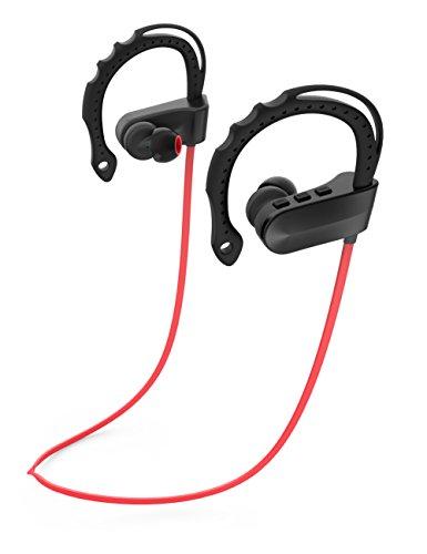 Reißverschluss-ohrhörer Mic (Bluetooth Kopfhörer LanBaiLan Wireless KopfhörerPremium Sound mit Bass Noise Cancelling Ergonomisches Design Sichere Passform mit Reißverschluss 6 Std. Spielzeit mit Mic)