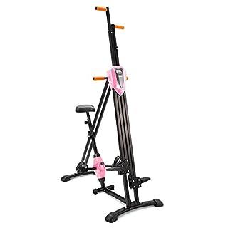 Ancheer Vertical Gym Climber Fitnessgerät Klappbar Sportgerät, Ideale Ergometer für Heimtraining, höhenverstellbar Arm- und Beintrainer für Erwachsene