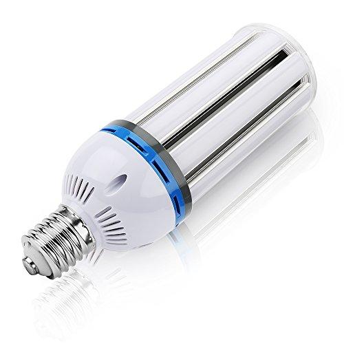 650w Halogen-lampe (65W E40 LED Birnen, (Tageslicht 6500K 6500LM) Maiskolben Lampe Ersatz 650W Glühlampe für Werkstatt Straßenbeleuchtung Carport Garten Hof [Energieklasse A+++])