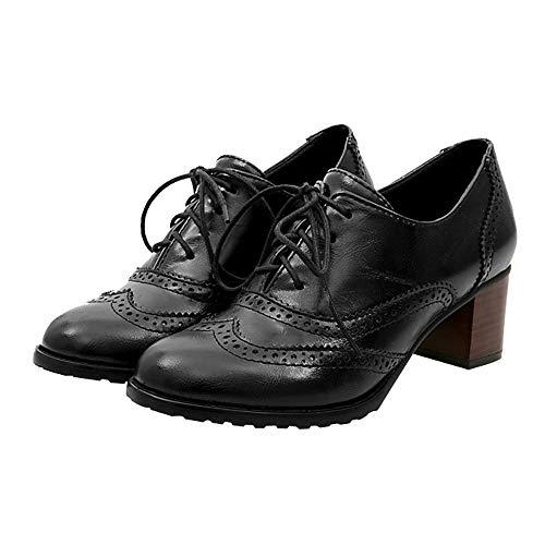 Junjie Frauen Lace-up Casual Wohnungen Laufschuhe Sneaker Low Atmungsaktiv Leicht Weich Mode 2018 Damen Mädchen Retro Mid Mode Frauen Hohl Schuhe Flach Mund Einzelne Schuhe Starke Ferse Schuhe