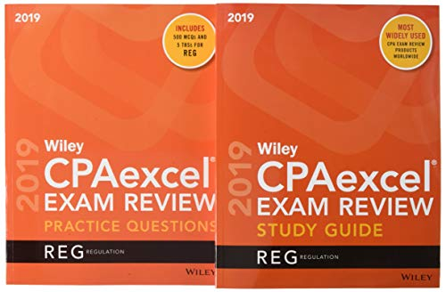 Wiley CPAexcel Exam Review 2019 Study Guide + Question Pack: Regulation