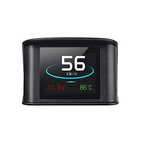 Car-Audio-Lautsprecher P10 Auto HUD Head Up Display Smart Digital Tacho mit OBDII/EUOBD Port LED-Anzeige OBDII Scanner Diagnose-Tool Car Audio Lautsprecher Auto für