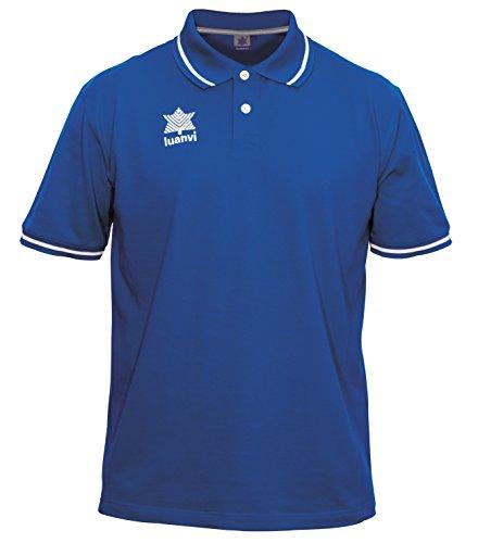 Luanvi Gama Polo, Hombre, Azul Royal, M