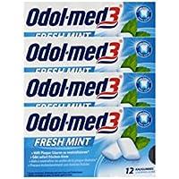 ODOL MED 3 Fresh Mint Kaugummi PZN 34157 Lot de 12