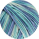 Lana Grossa Wolle Cool Wool 2000 728 Himmelblau
