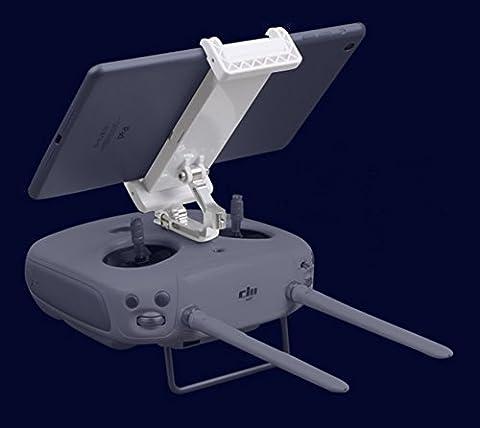 Owoda Mise à jour Ajustable Téléphone portable / Tablette Élargi Titulaire Pliable Supporter avec Métal Support pour DJI Phantom 3 La norme / Professionnel / Avancée / Phantom 4 / Inspire 1 Télécommande (pour Téléphone portable et Tablette) - 5.5 Tablet