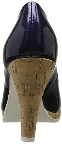 Marco Tozzi 22401, Escarpins Femme Bleu (Navy 805)