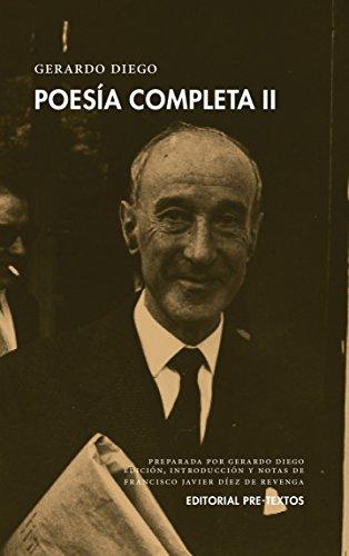 Poesía completa: GERARDO DIEGO  POESIA COMPLETA II: 2 (Biblioteca de clásicos contemporáneos) por GERARDO DIEGO