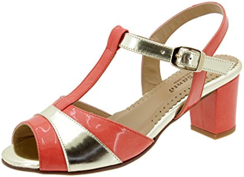 PieSanto Scarpe Donna Comfort Pelle 4494 Sandali scarpecasual Comfort Larghezza Speciale | Di Alta Qualità E Basso Overhead  | Sig/Sig Ra Scarpa