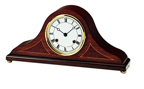 AMS_UK Uhr, Gold, 16x 21x 8cm P, holz, mahagoni, 26 x 19 x 4 cm