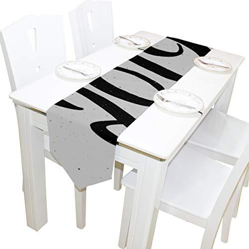 eier Kommode Schal Tuch Abdeckung Tischläufer Tischdecke Tischset Küche Esszimmer Wohnzimmer Home Hochzeitsbankett Dekor Indoor 13x90 Zoll ()