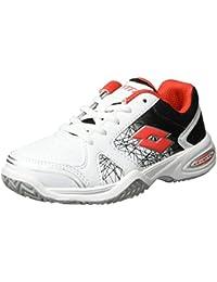 Lotto Sport T-Strike Ii Cl L, Chaussures de Tennis Mixte Enfant