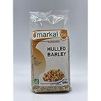 Organic Hulled Barley by Markal ,500gm (Brown)