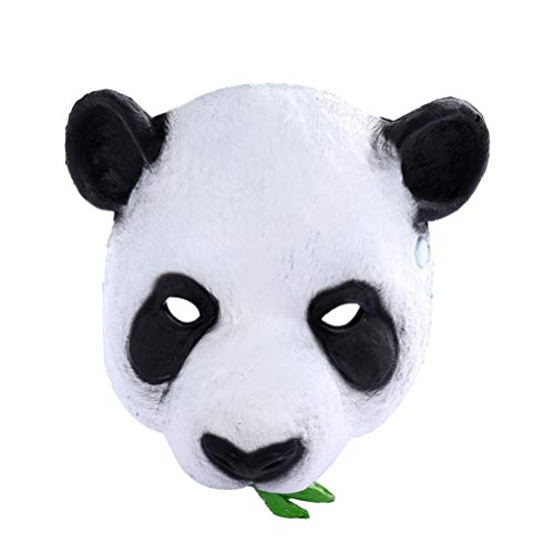 Happyyami Halloween Maske großer Panda Kopf Maske pu Schaum Halloween Gesicht Dekorationen für Karneval bar - Panda Kostüm Streich
