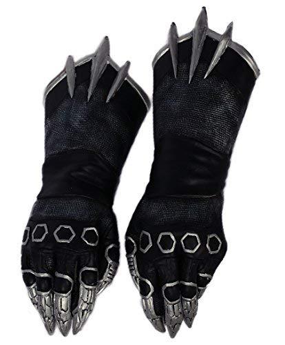 Herren Schwarz Klaue Handschuhe Cosplay Erwachsene Kühlen Kostüm Halloween Abendkleid Zubehör Prop (Für Erwachsenen-kostüme Halloween)