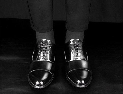 Scarpe Uomo in Pelle Scarpe da uomo in pelle stile britannico a punta brillante da lavoro scarpe da cerimonia da uomo ( Colore : Stile c , dimensioni : EU39/UK6 ) Uno Stile