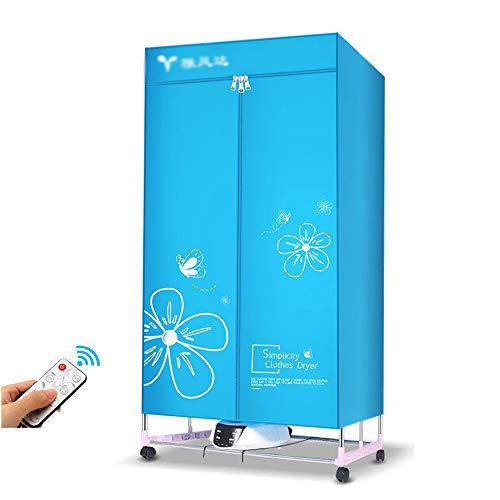 Clothes dryer mobilia asciugatrice, essiccatore portatile, pieghevoli rack intelligenti, armadi versatili, grande capacità bistrato remoto 1300w / 1600w / 2000w