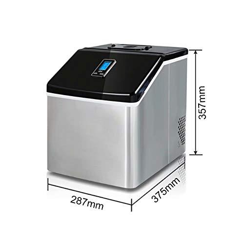 GL-home Eismaschine - Tisch-Eismaschine - Neuer Kompakt - Keine Rohre - 24-Stunden-EIS - Moderne Stahl-tisch