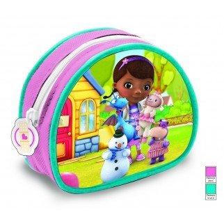 Disney - Portamonete da bambina, prodotto ufficiale, motivo: Dottoressa Peluche