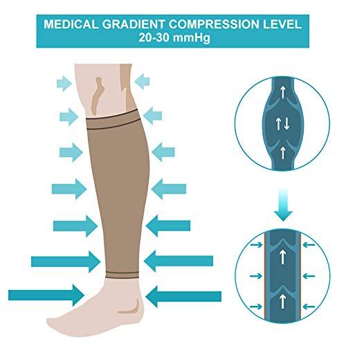 Zoom IMG-2 calze a compressione graduata fascia