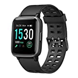 moreFit Smart Watch Fitness Tracker,TouchScreen Activity Tracker Watch with Heart Rate Monitor,Waterproof Smart