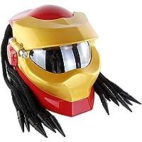 LI DANNA Máscara De Casco Predators. Casco Iron Man. Casco Moto Cara Completa,