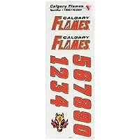 NHL Decals - Calgary Flames - White helmet