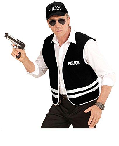 Männer Für Kostüme Polizei (KOSTÜM - POLICE OFFICER - Größe 50/52 (M/L), US Cop Polizei Amerika Uniformen)