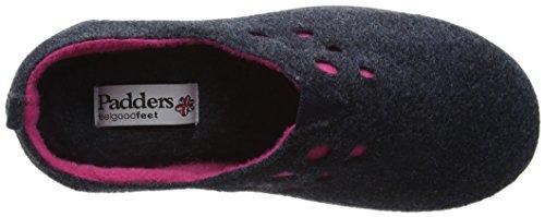 Pantofole Da Donna Piatte Riva Blu (24 Navy)