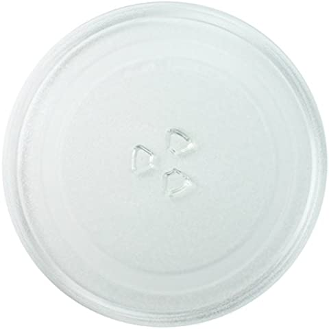 Spares2go Universal de cristal para tocadiscos placa plato para todos hace De Horno De Microondas