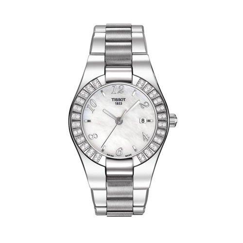 Tissot Femme Montre bracelet Glam Sport Acier Inoxydable t0432101111701
