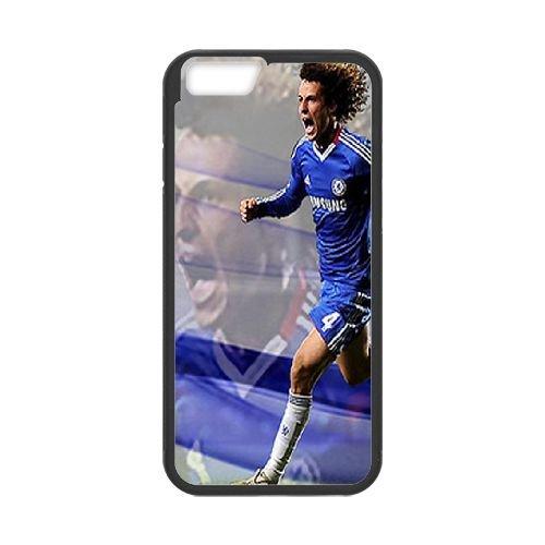 David Luiz coque iPhone 6 Plus 5.5 Inch Housse téléphone Noir de couverture de cas coque EBDXJKNBO13225