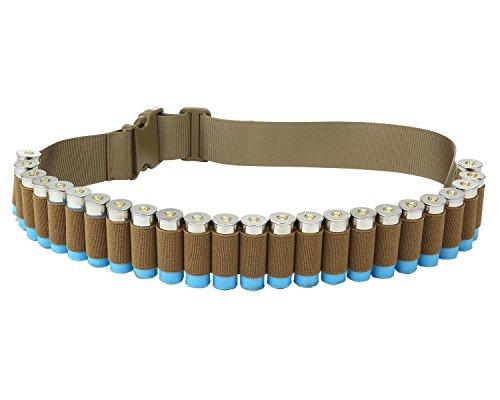 Cinturón cartuchos escopeta táctica munición Canana