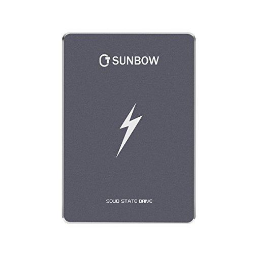 TCSunBow 2,5 pollici SATA3 60GB Con 256M cache SATAIII SSD Solid State Drive (X3 60GB)