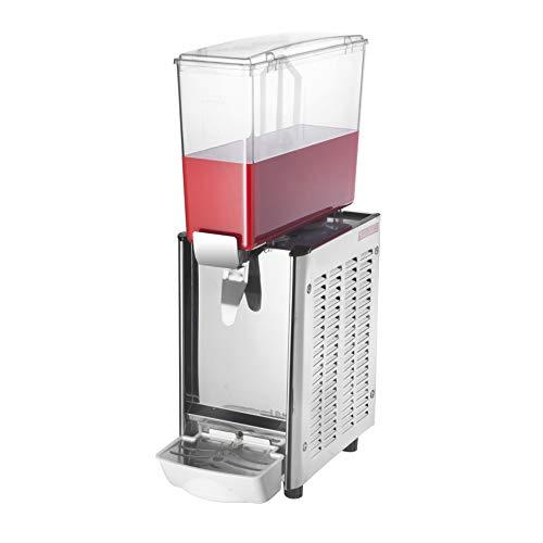 PrimeMatik JU001-VCES Máquina dispensadora de zumos y Bebidas frías comerciales de 9L x 1 Tanque (JU001)