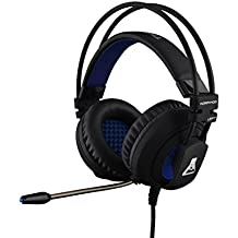 The G-Lab KORP400 - Cascos gaming (Compatibles con PC, xBox y PS4 - Retroiluminados, USB + ext cable 2 m)