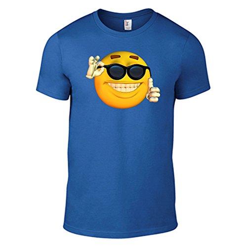 t-shirt-smiley-cool-motivshirt-funshirt-6-farben-s-xxl-blau-l