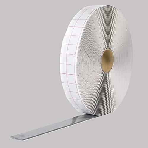 Butylband 10mmx2,0mm beidseitig selbstklebend 18m Rolle grau