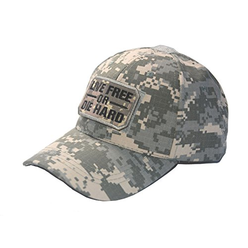 Military Tactical Cap AMERICAN flagge Baseball GAP Tactical Jagd Hat mit Camouflage Tactical Patch, ACU+1