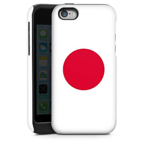 Apple iPhone 5s Housse Étui Protection Coque Japon Drapeau Ballon de football Cas Tough brillant